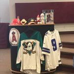 Sports memorbilia for sermon