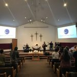 CCC sanctuary praise team plaing